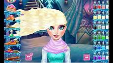 disney frozen games princess elsa real haircuts youtube