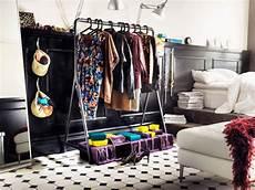Bedroom Clothes Storage Ideas by Wardrobe Storage Idea Clothes Rack Bedroom