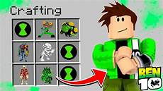 roblox ben 10 how to become ben 10 in roblox