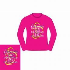 Desain Kaos Warna Pink Paimin Gambar