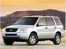 2003 Honda Pilot LX Sport Utility 4D Pictures and Videos