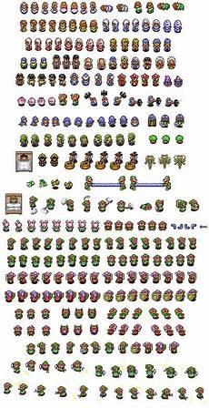 link to the past sprite sheet dem pixels pinterest