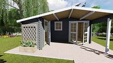 Gartenhaus Holz 40 Mm - gartenhaus holz blockhaus wandst 228 rke 40 mm modell
