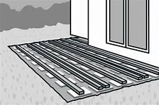 terrassenaufbau holz detail holzterrasse bauen hornbach