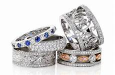 unique wide wedding rings and engagement bands knox jewelers