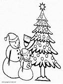 Snowman Coloring Pages Free Printable Pictures For Kids