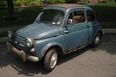 stored for 49 years 1958 fiat 500