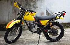 Modif Trail Jadul by Modifikasi Honda Mega Pro Trail Jadul Indonesia Motorcycle