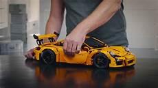 lego technic porsche designer workshop porsche 911 gt3 rs lego technic