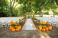 outdoor fall wedding rustic wedding chic