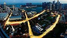 Road Closures For The Singapore F1 Grand Prix Race