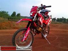 Satria 2 Tak Modif Supermoto by Modifikasi Suzuki Satria 2 Tak Trail Gambar Modifikasi