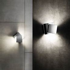 1w modern led wall light artistic cubic metal shade holtkoetter cubic dual swivel 6 quot high led wall sconce 8d238 ls plus