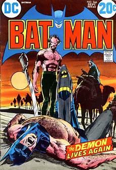 batman 244 neal art cover pencil ink