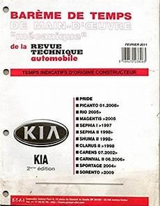 telecharger revue technique t 233 l 233 charger bareme de temps de d oeuvre mecanique de la revue technique automobile kia 2
