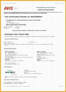 avis car rental invoice apcc2017