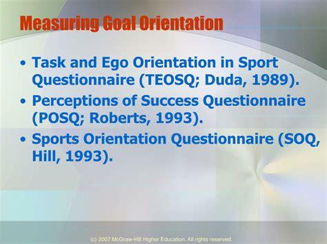 Mastery Goal Orientation