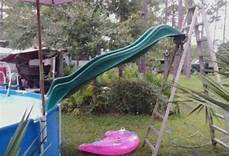 Pool Rutsche Selber Bauen - pool ladder with slide above ground diy search