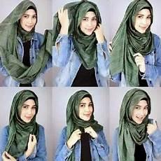 Tutorial Simple Untuk Muka Bulat Ragam Muslim