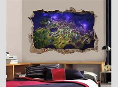 $8.99   Fortnite 3D Smashed Wall Sticker Decal Home Decor