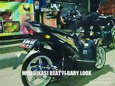 Modifikasi Motor Beat Fi Babylook by Modifikasi Beat Fi New Baby Look