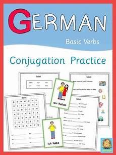 german worksheets verbs 19737 helper teaching resources teachers pay teachers