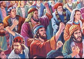 Image result for israel murmured against god