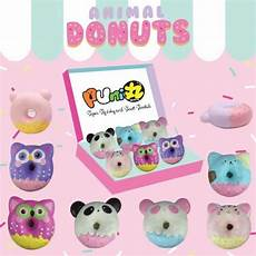Kawaii Puni Maru Animal Donut Squishy Jumbo Size