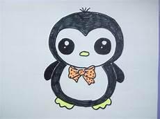 kawaii bilder tutorial einen pinguin malen zeichnen