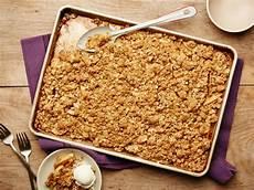 Crumble Sheet Pan Apple Crumble Recipe Food