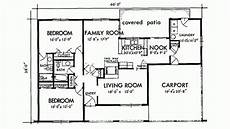 small adobe house plans adobe southwestern style house plan 2 beds 2 baths