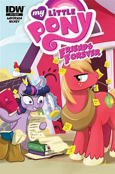 my pony friends forever 17 idw publishing