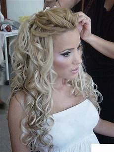 23 stunning half up half down wedding hairstyles pretty designs