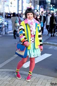 colorful harajuku street style w galaxxxy japan 6 dokidoki milklim