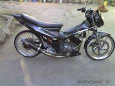 Modifikasi Satria Fu Simple by Gambar Modifikasi Motor Satria Fu 150 Simple Keren Heri