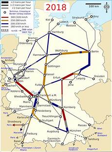 Frankfurt Nach Berlin - list of intercity express lines in germany
