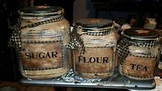 rustic kitchen canister sets 25 best ideas about primitive canisters on
