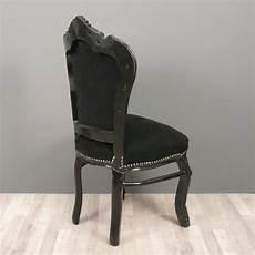 chaise baroque noir chaise baroque fauteuil baroque meuble baroque