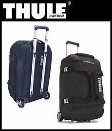 thule crossover 56l rolling duffel reisetasche koffer mit