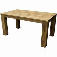 table rectangulaire en ch 234 ne massif avec allonge int 233 gr 233 e jbf