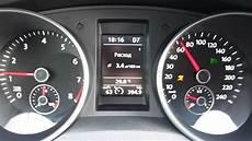Vw Golf 1 4tsi Dsg Fuel Consumption Average At 60 Km H