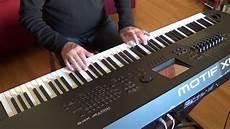 Yamaha Modif by Yamaha Motif Xf8 Lullaby For Harp And