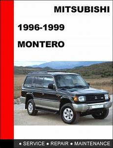free car manuals to download 1998 mitsubishi montero spare parts catalogs mitsubishi montero 1996 1999 factory service repair manual tradebit