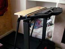 walking and working i built myself a treadmill desk 100