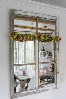 spiegel deko herbstzeit kerzenzeit oder mein neuer spiegel haus deko
