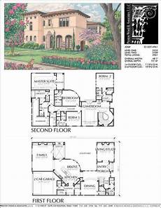 2 story mediterranean house plans two story home plan e2029 mediterraneanhomes with images