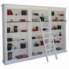 bibliothèque bois blanc biblioth 232 que bois massif 15 233 tag 232 res 304x40x230 achat