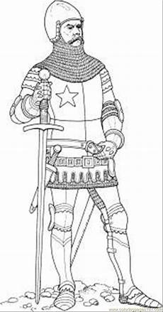 coloring page free knights coloring pages