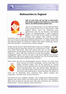 arbeitsblatt weihnachten in europa lehrermaterial de