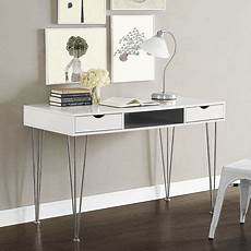 walmart home office furniture we furniture walker edison home office grey wood chrome